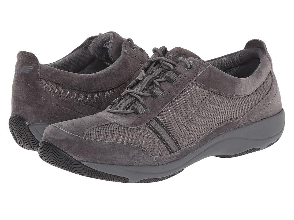 Dansko - Helen (Charcoal Suede) Women's Shoes
