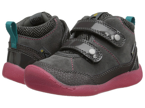 Keen Kids - Tris High Top (Toddler/Little Kid) (Magnet/Camellia Rose) Girls Shoes