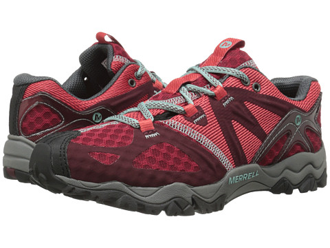 Merrell - Grassbow Air (Red) Women's Shoes
