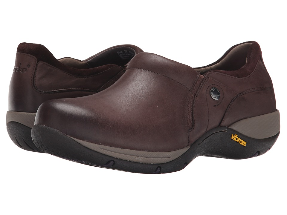 Dansko Celeste (Brown Burnished Nubuck) Women