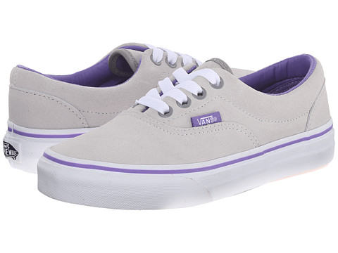 Vans Kids - Era (Little Kid/Big Kid) ((Suede) Vapor Blue/Dahlia Purple) Girls Shoes