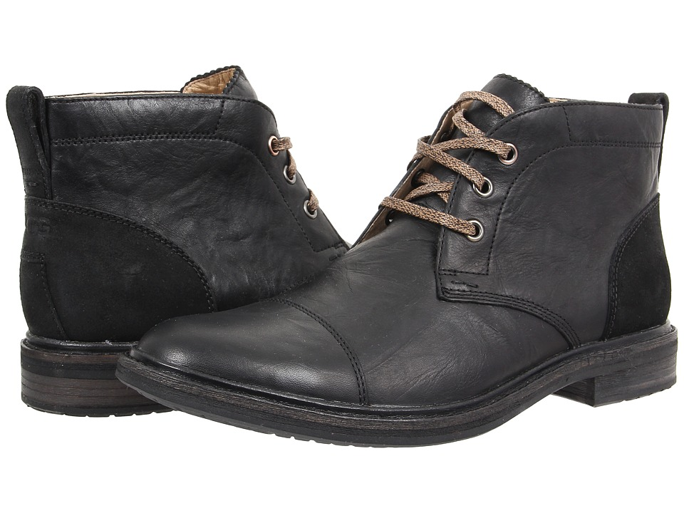 UGG - Galen (Black Leather) Men