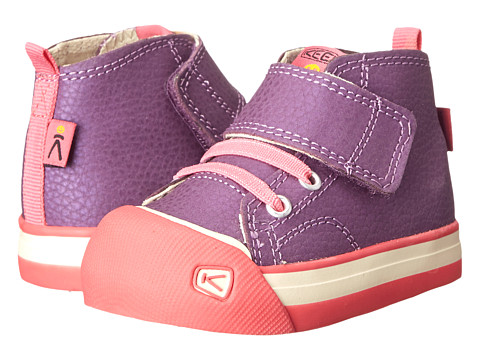 Keen Kids - Coronado High Top Leather (Toddler) (Purple) Girl's Shoes