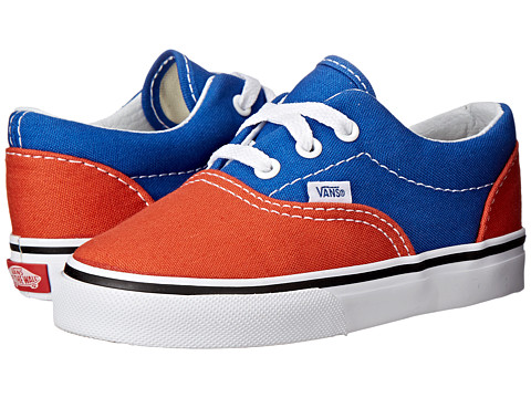 Vans Kids - Era (Toddler) ((Golden Coast) Olympian Blue/Burnt Ochre) Boys Shoes