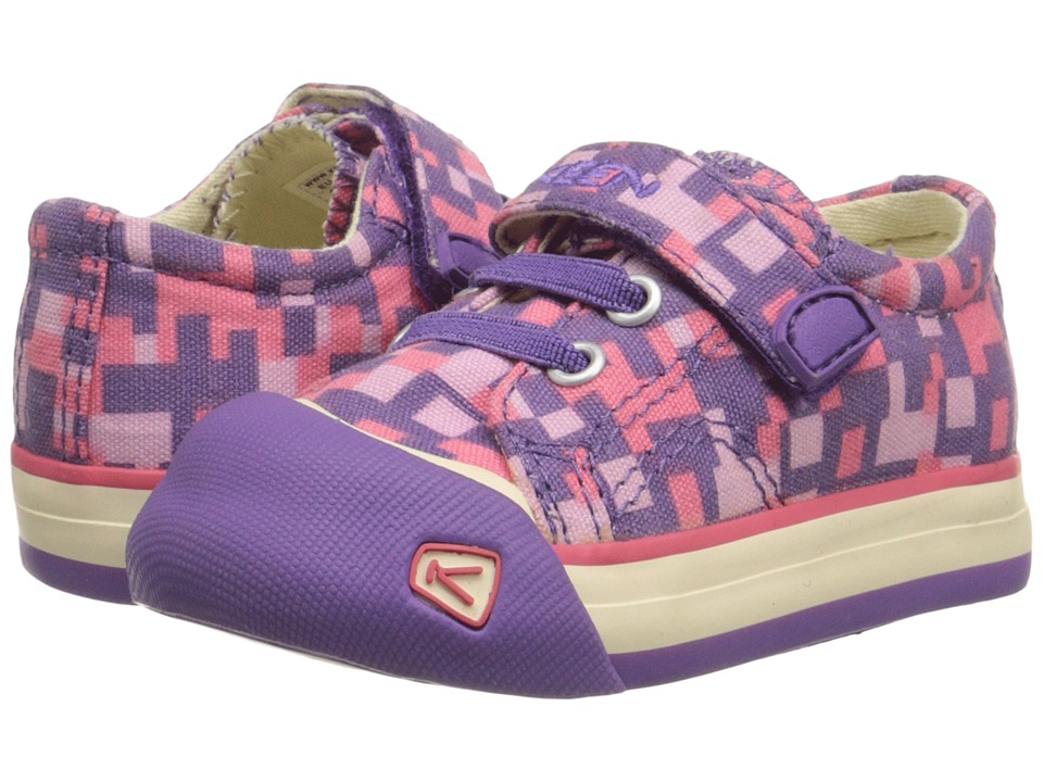 Keen Kids - Coronado Print (Toddler) (Purple Heart Digital Camo) Girls Shoes
