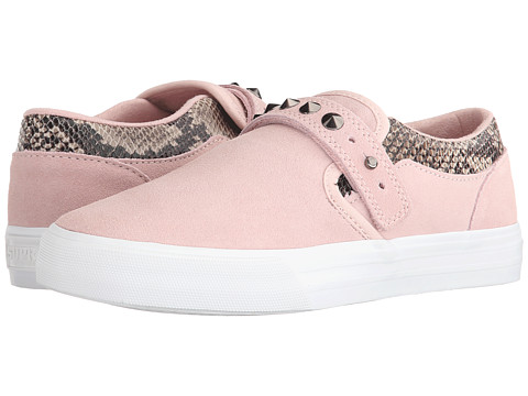 Supra - Elyse Walker Cuba (Pink/Brown/White) Women