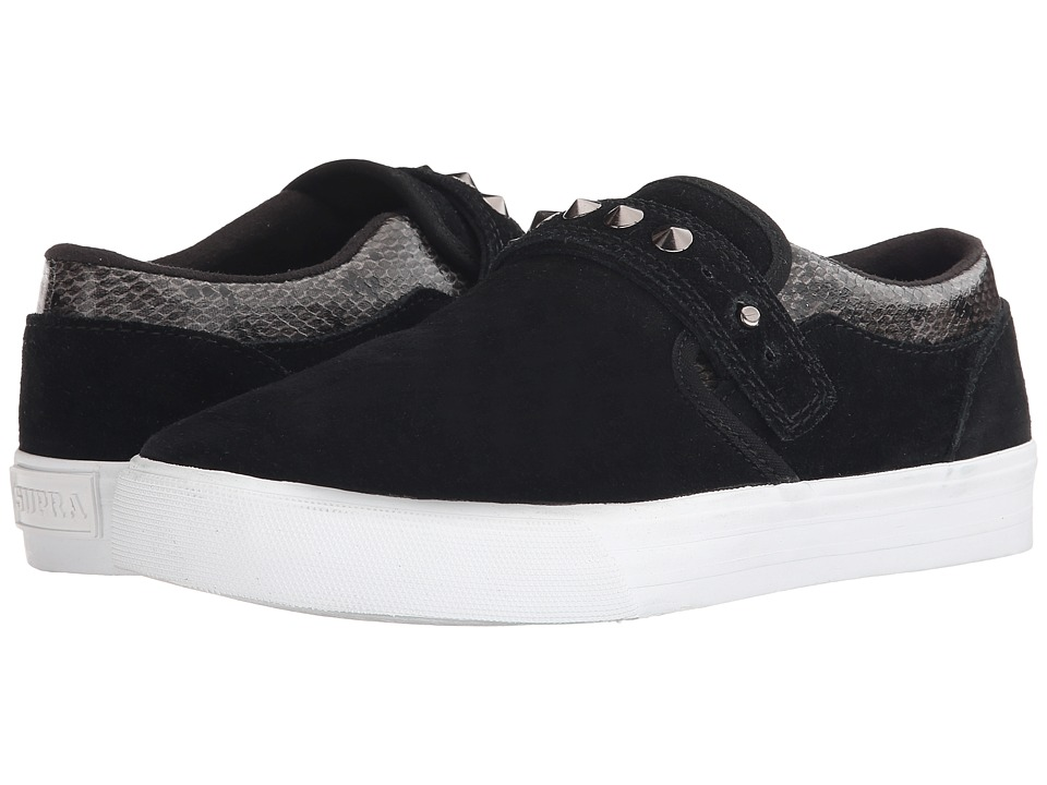 Supra - Elyse Walker Cuba (Black/White) Women's Skate Shoes