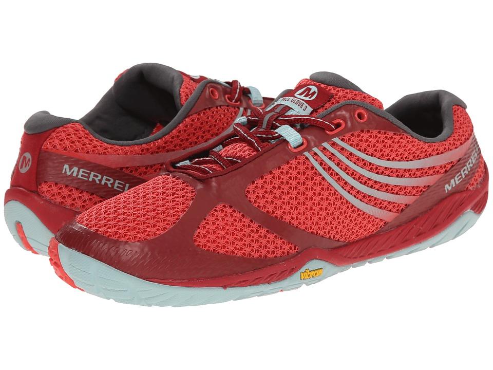 Merrell - Pace Glove 3 (Red/Light Blue) Women's Shoes