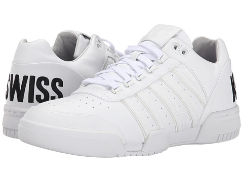 K-Swiss - Gstaad BL (White/Black/Big Logo) Men