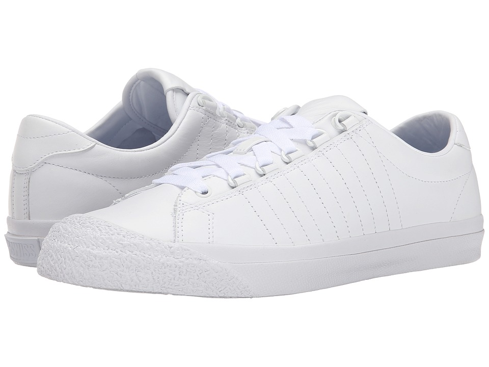 K-Swiss - Irvine (White/White/White) Men's Tennis Shoes