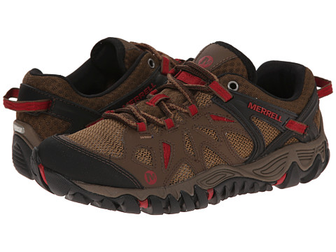 Merrell - All Out Blaze Aero Sport (Dark Earth) Women's Shoes