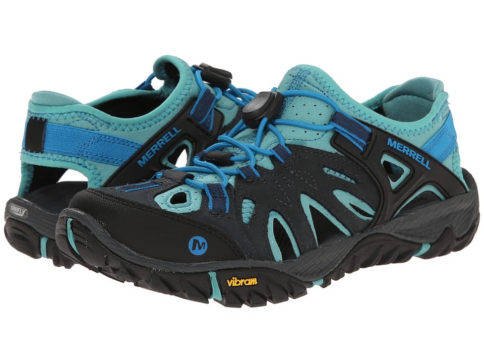 Merrell - All Out Blaze Sieve (Blue Wing) Women's Shoes