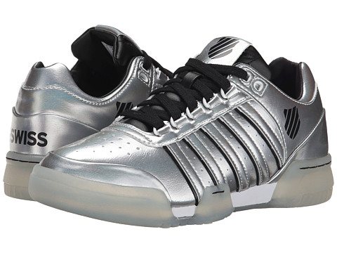 K-Swiss - Gstaad S (Crystal/Black/White) Women's Tennis Shoes