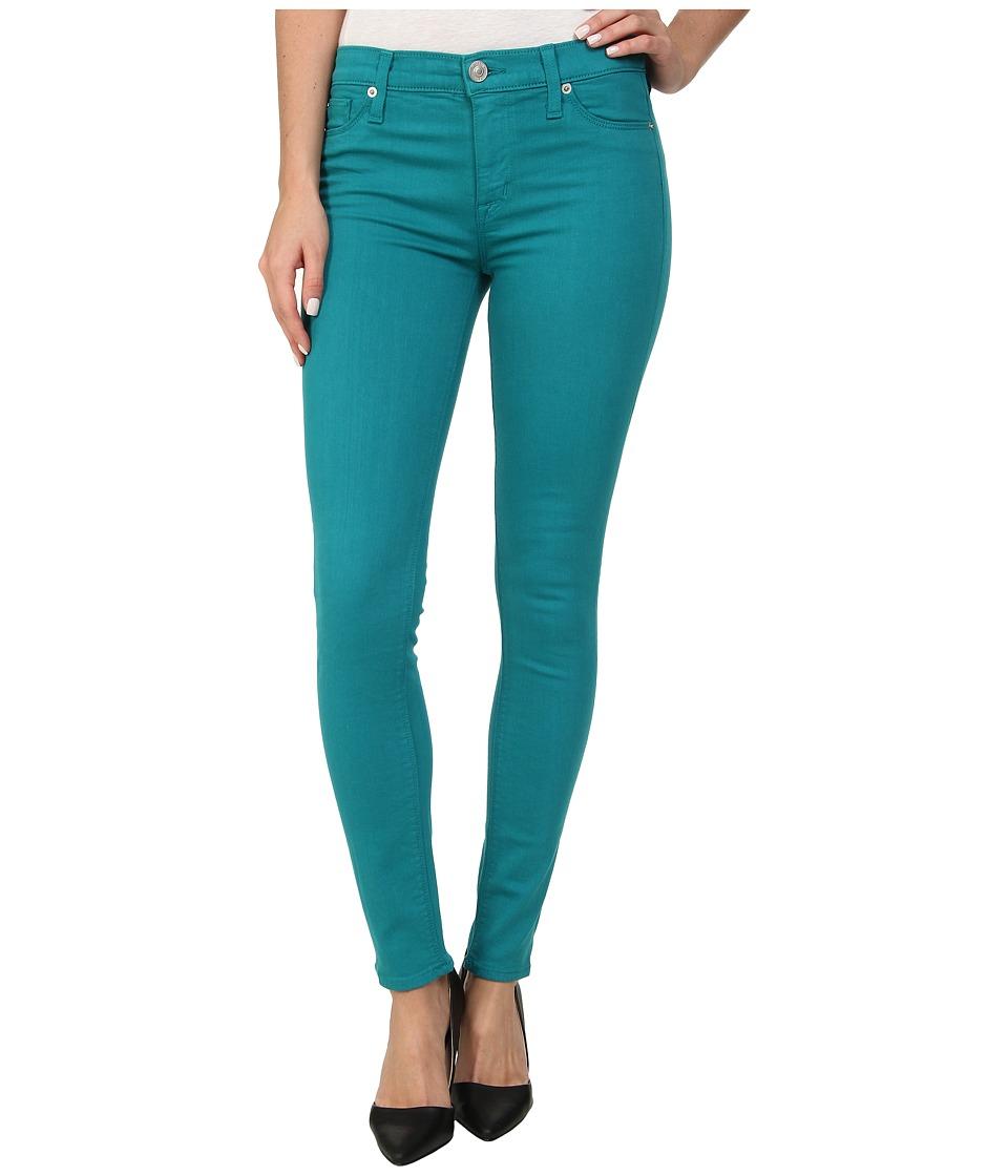 Hudson - Nico Super Skinny Midrise in Marina (Marina) Women's Jeans