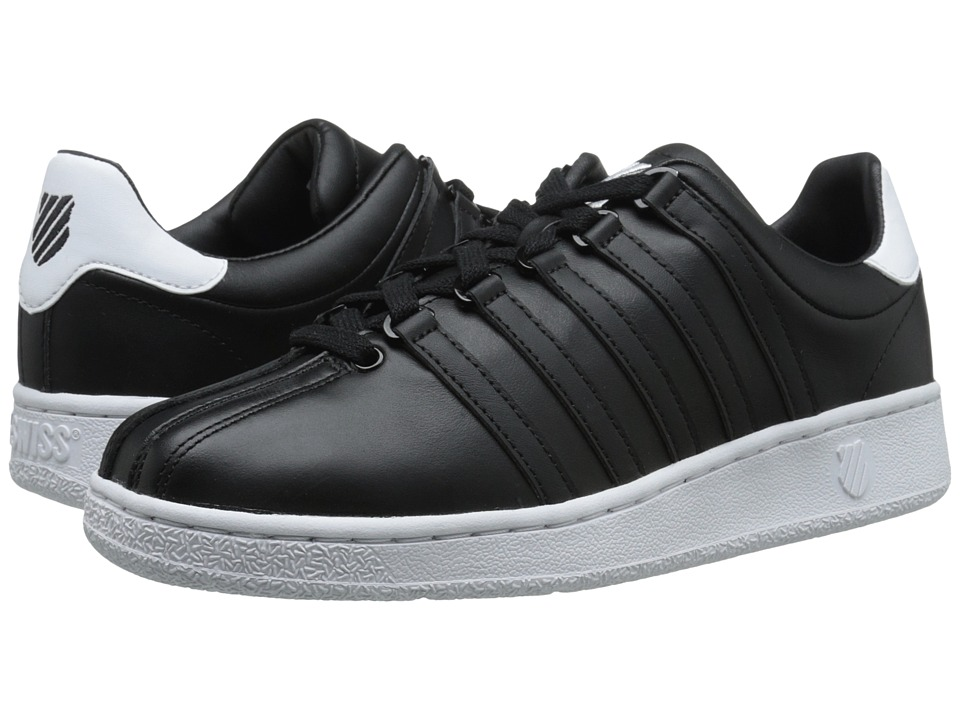 K-Swiss - Classic VN (Black/White/White) Men's Shoes