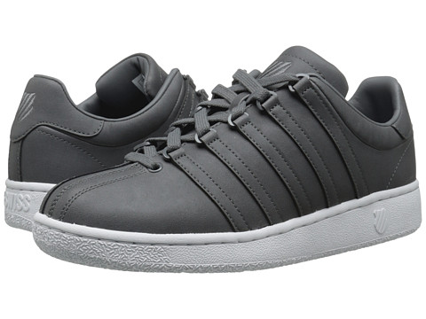 K-Swiss - Classic VN (Charcoal/White) Men's Shoes