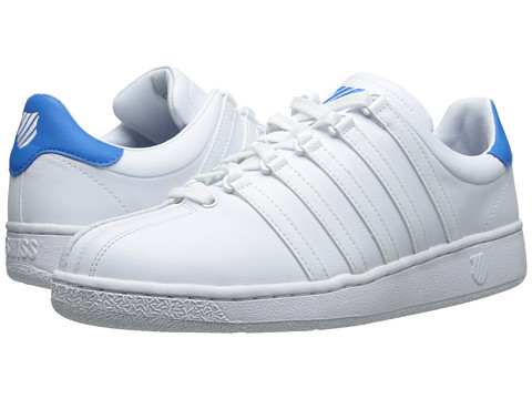 K-Swiss - Classic VN (White/White/Blue Aster) Men's Shoes