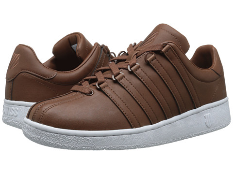 K-Swiss - Classic VN (Friar Brown/White) Men's Shoes
