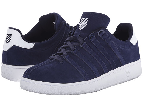 K-Swiss - Classic VN SDE (Navy/White) Men's Classic Shoes
