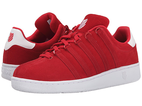 K-Swiss - Classic VN SDE (Red/White) Men's Classic Shoes