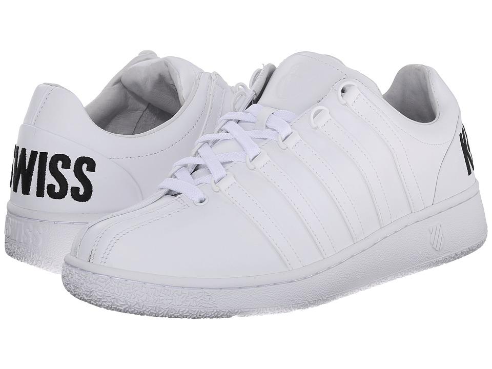 K-Swiss - Classic VN BL (White/Black/Big Logo) Men's Shoes