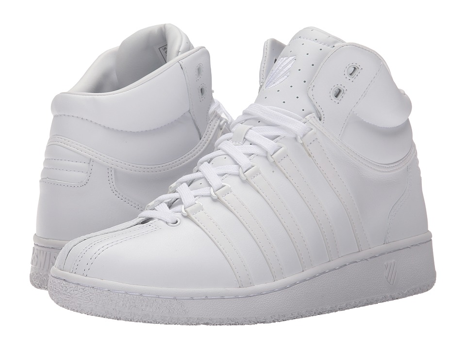 K-Swiss - Classic VN Mid (White/White) Men's Classic Shoes