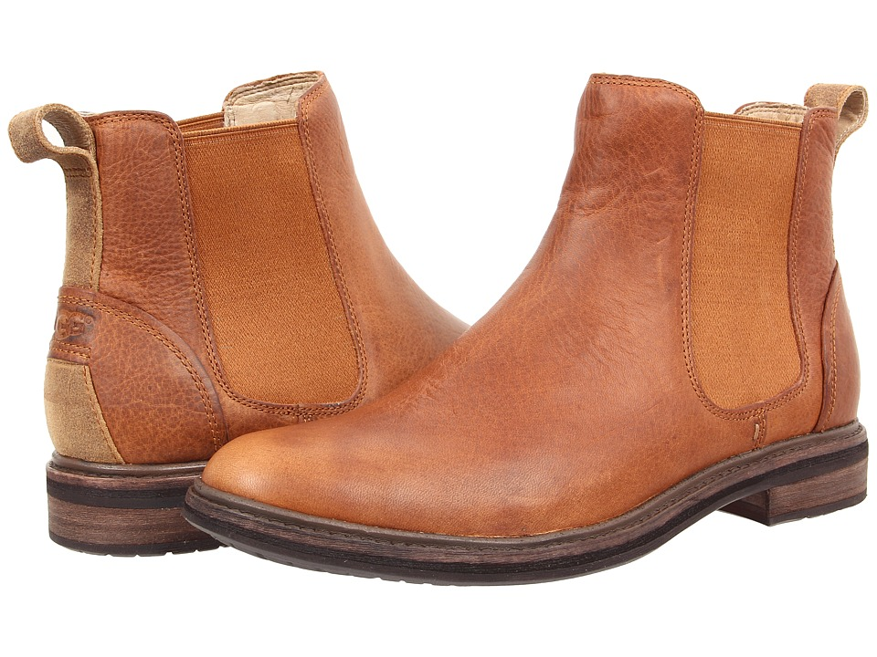 UGG - Leif (Chestnut Leather) Men's Pull-on Boots
