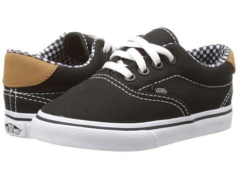 Vans Kids - Era 59 (Toddler) ((6 Oz. Canvas) Black) Boy's Shoes