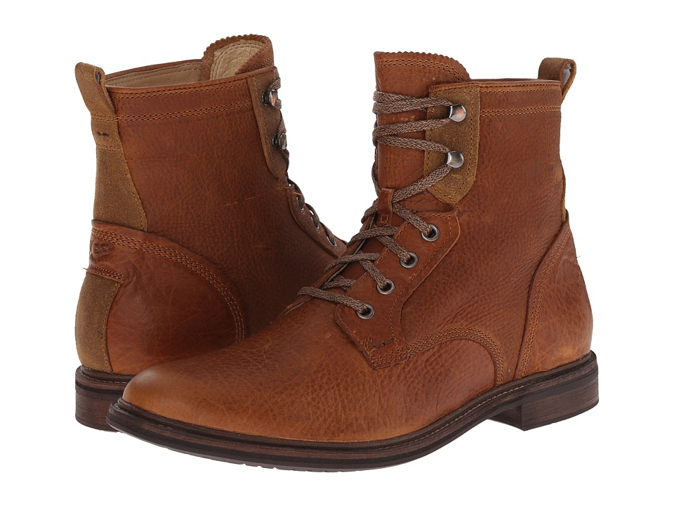 UGG - Selwood (Chestnut Leather) Men's Lace-up Boots