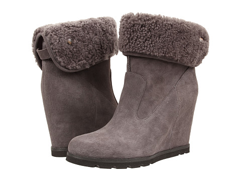 UGG - Kyra (Granite Suede) Women's Wedge Shoes