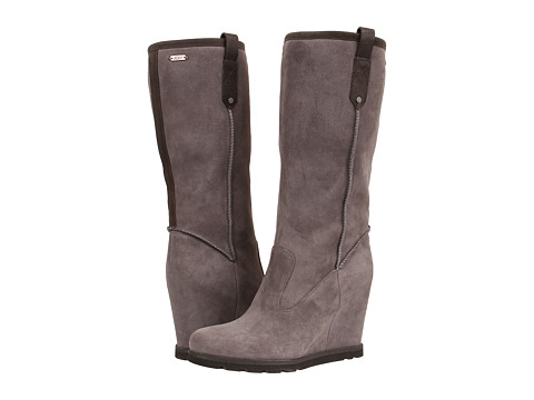 UGG - Soleil (Granite Leather) Women's Pull-on Boots