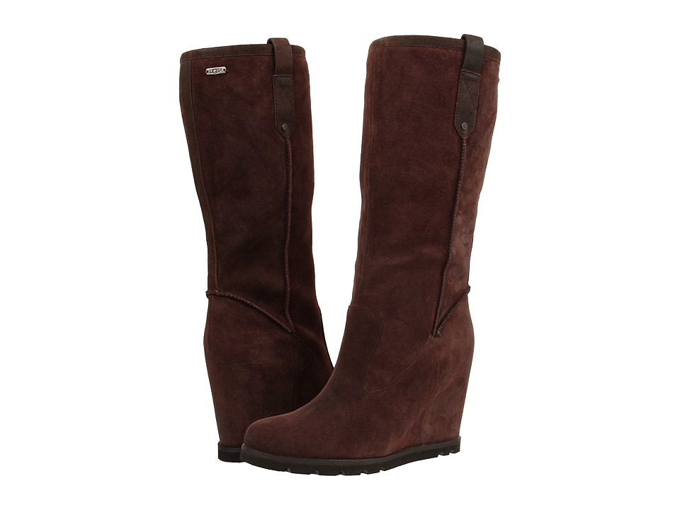 UGG - Soleil (Lodge Suede/Leather) Women's Pull-on Boots