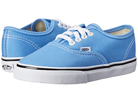 Vans Kids - Authentic (Toddler) (Marina/True White) Girls Shoes