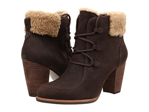 UGG - Analise (Lodge Leather) Women's Lace-up Boots