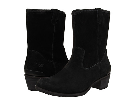 UGG - Briar (Black Leather) Women's Boots