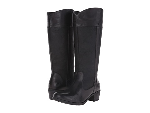 UGG - Cassis (Black Leather) Women's Boots