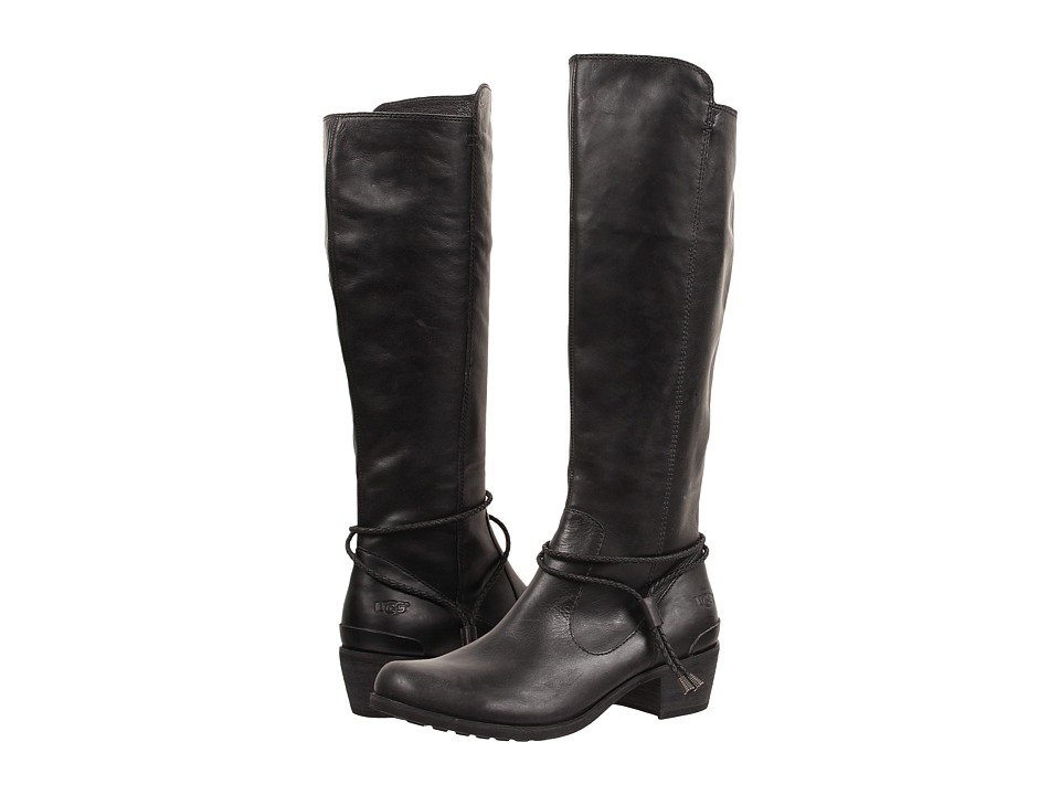 UGG - Cierra (Black Leather) Women