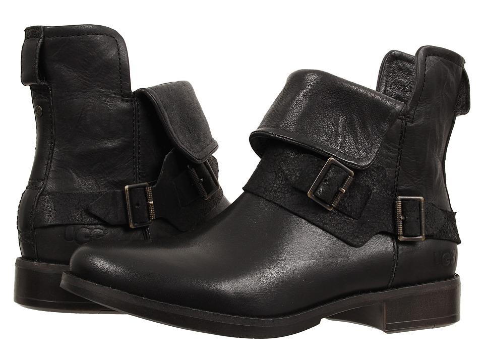 e1ac9410d0d UPC 888855148128 - UGG - Cybele (Black Leather) Women's Boots ...