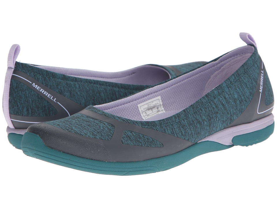 Merrell - Ceylon Ballet (Teal/Lilac) Women's Slip on Shoes