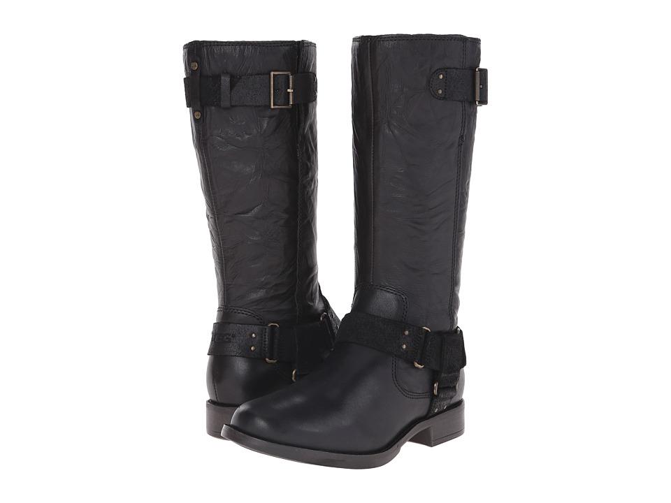 UGG Damien (Black Leather) Women
