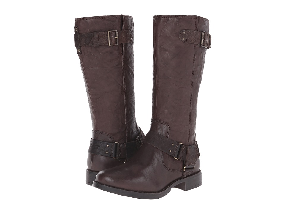 UGG - Damien (Lodge Leather) Women's Pull-on Boots