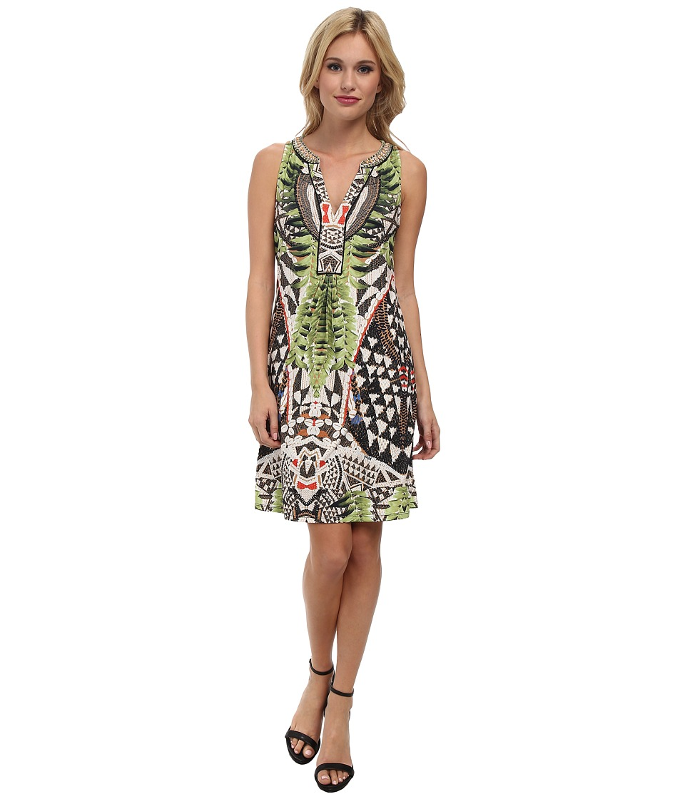 Hale Bob - Rio Sleeveless Dress (Green) Women's Dress