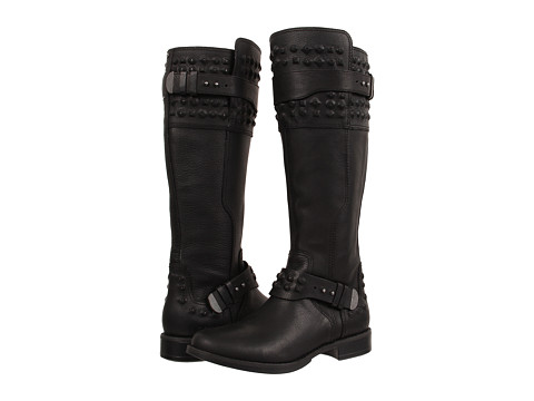 UGG - Dayle Stud (Black Leather) Women