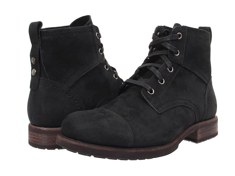 UGG - Parkhurst (Black Leather) Men