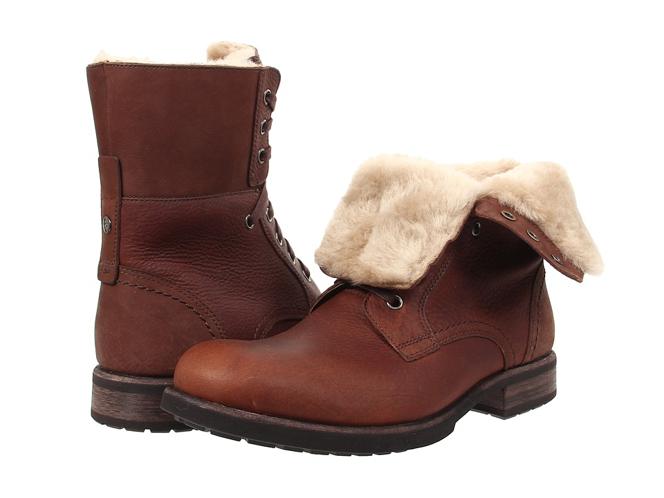 46c7791f8eb UPC 888855200789 - UGG - Larus (Grizzly Leather) Men's Shoes ...