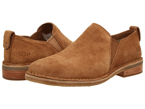 UGG - Camellia (Chestnut Suede) Women's Slip on Shoes