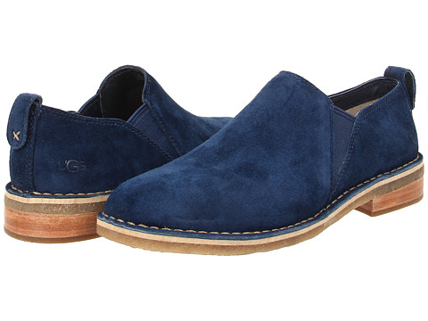 UGG - Camellia (Blue Jay Suede) Women's Slip on Shoes