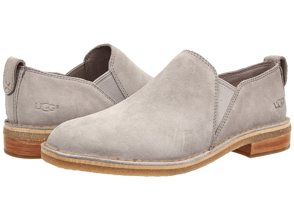 UGG - Camellia (Ash Suede) Women's Slip on Shoes