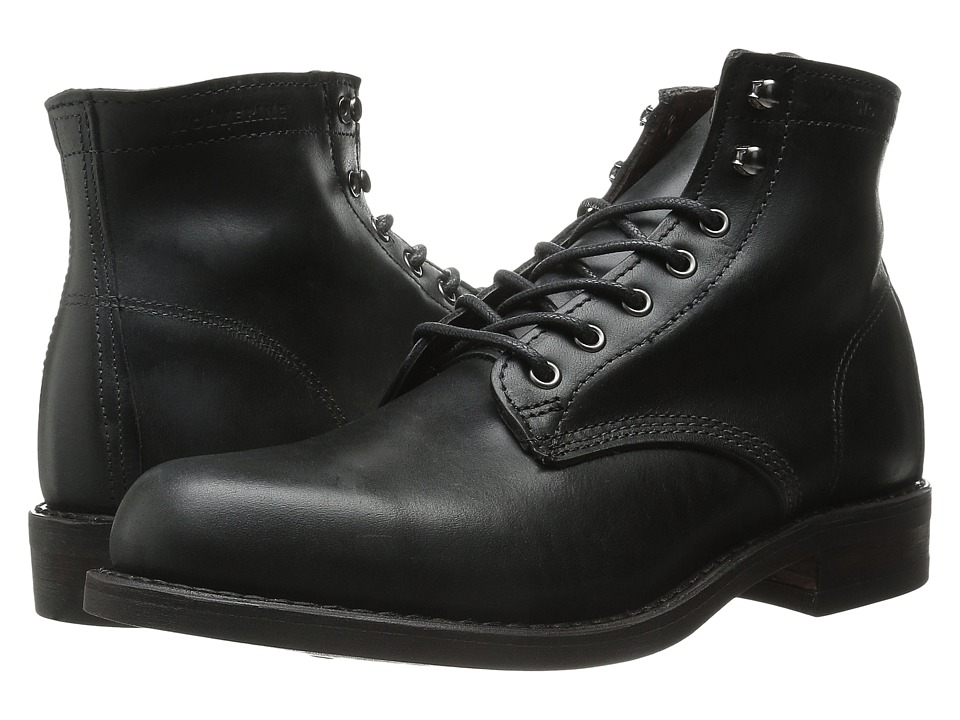 Wolverine - Kilometer (Black) Men's Work Boots