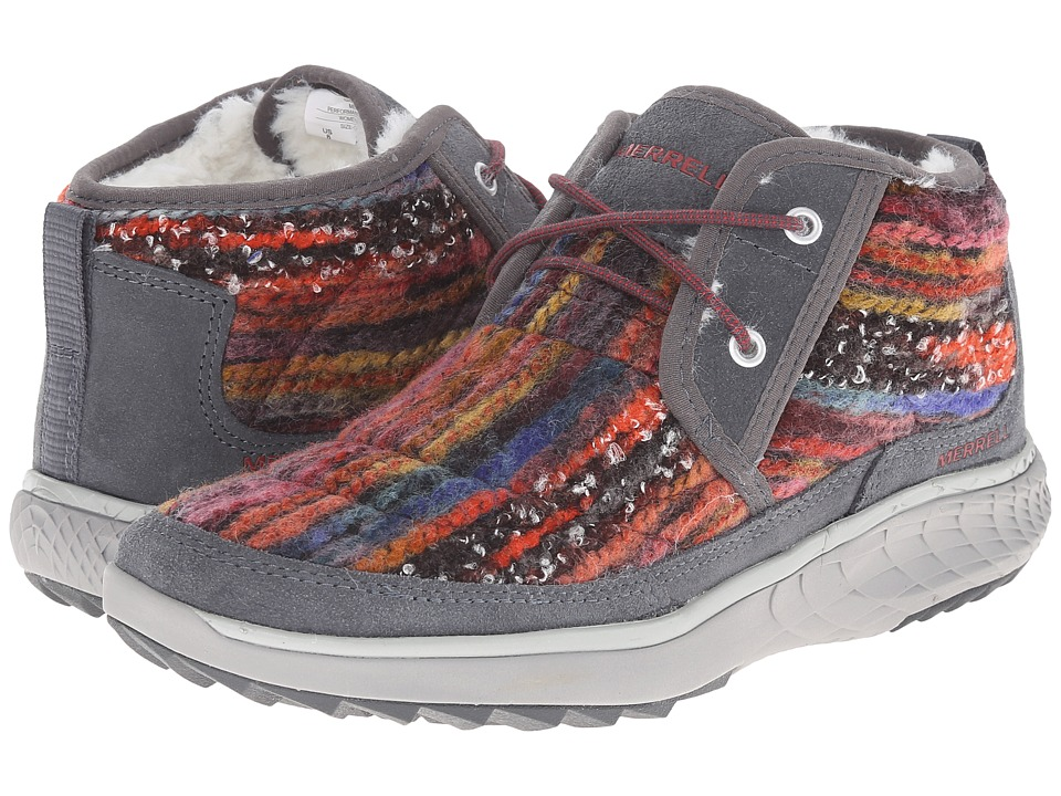 Merrell - Pechora Mid (Grey/Multi) Women